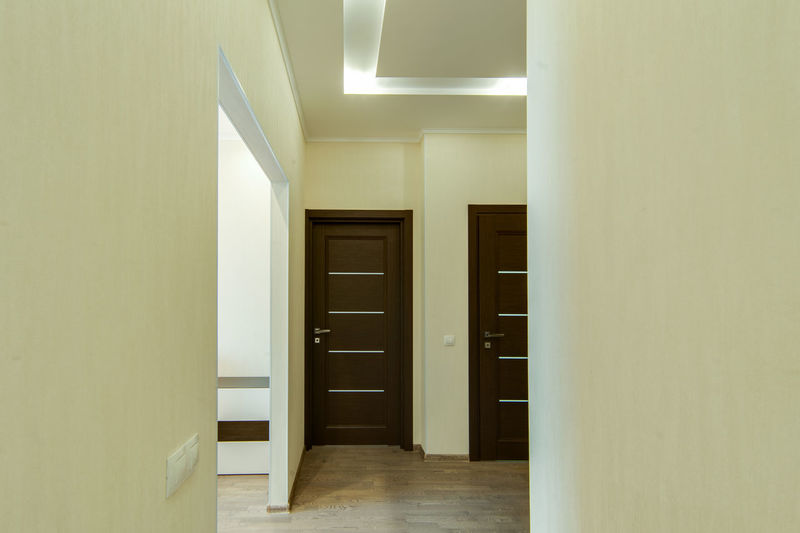Door Entrance Architecture Indoors  Building Built Structure Corridor Arcade No People Home Interior Empty Flooring Wood - Material Absence Wall - Building Feature Modern The Way Forward Closed Wall Ceiling