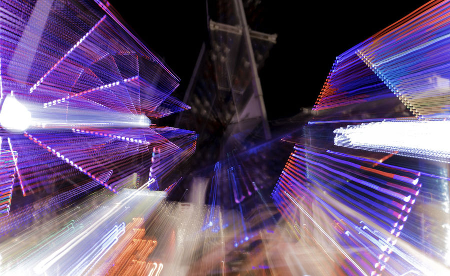 Carnival ride lights. Abstract Carnival Carnival Rides Illuminated Light Long Exposure Long Exposure Night Photography Night Photography Outdoors Slow Shutter Slow Shutter Long Exposure Capture Slow Shutter Speed