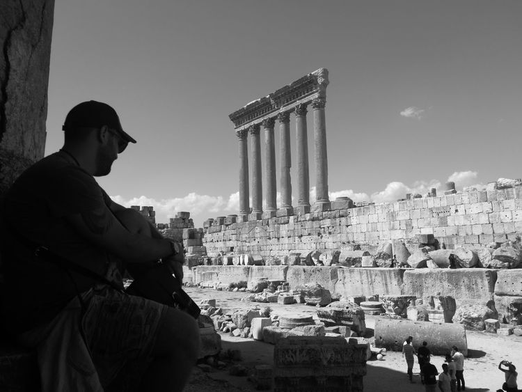Architecture Baalbek Outdoors Archeology Ancient City Adults Only Only Men One Man Only One Person Adult City Old-fashioned People Outdoors Day Architecture