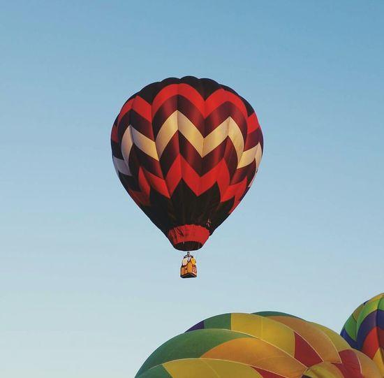 Hot Air Balloon Clovis  Fresno County California Festival Fall Fall Morning