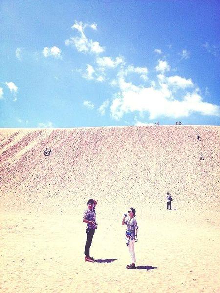 去年の思い出。その2。 鳥取砂丘