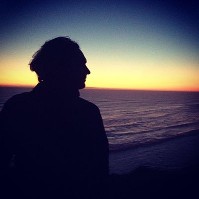Somewhere over that horizon lies Australia, where the sun is just rising Sequbu Sunset Ocean
