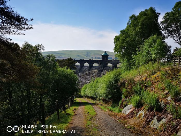 Elan Valley Mid Wales Tree Water Sea Bridge - Man Made Structure History Gate Sky Architecture Built Structure Cloud - Sky