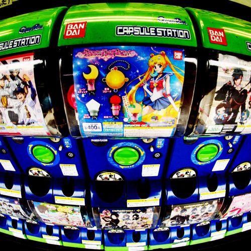 Justice/月に代わって Capsule Toys Vending Machine Sailormoon Cool Japan Anime Lumix DMC-GF1