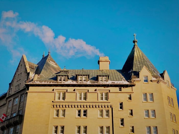 Edmonton Alberta Canada Architecture Building Exterior Built Structure Sky Cloud - Sky Day Window First Eyeem Photo