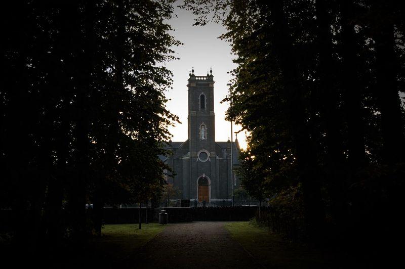 Church between