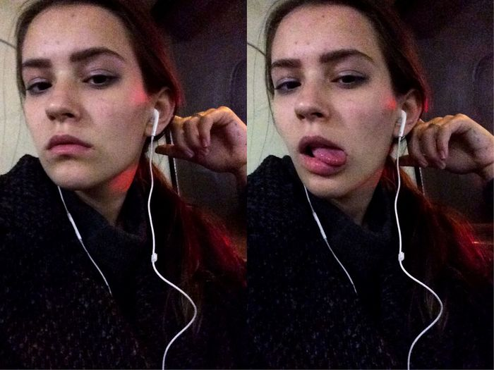 Escaping Selfportrait Selfie ✌ Public Transportation Tired Sleepy No Makeup Moscow Ghetto Kill Me Please