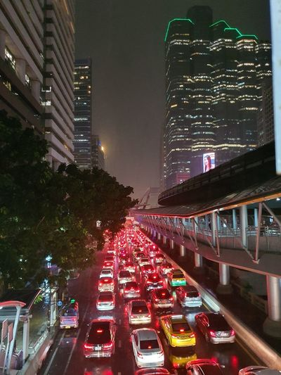 traffic jam in
