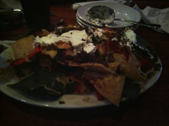 Now That's What I Can Loaded Nachos! YUMMY! :)
