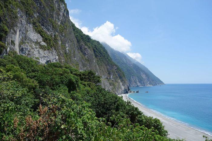 Taiwan Taiwan Pacific Ocean Taroko National Park Taroko Mountains And Sea Seashore