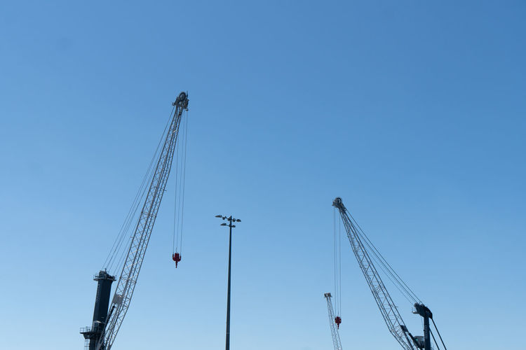 Part of construction cranes