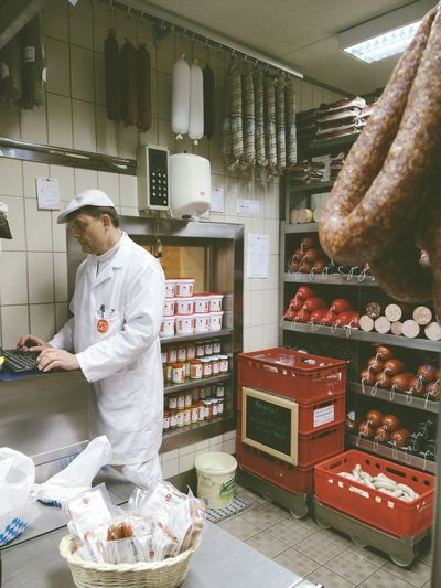 Munich. Butcher