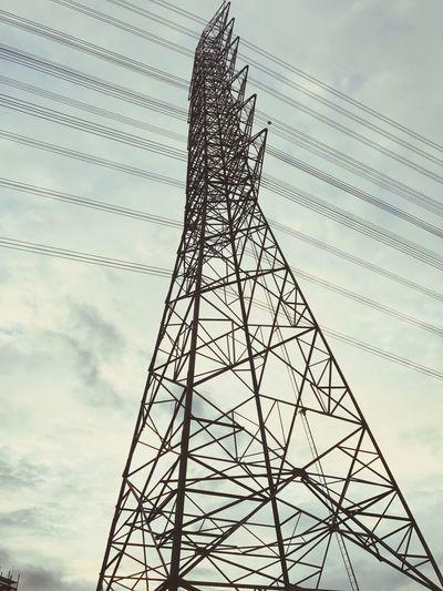 high voltage pole Electricity Pylon Cable