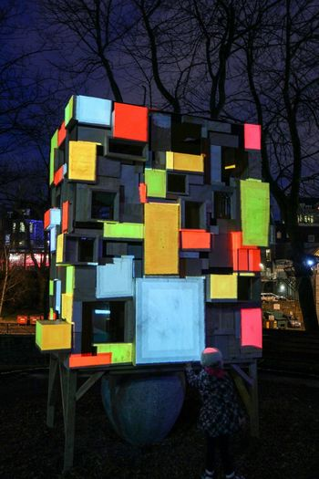 Light Box Spectra2015 Box Colour Abstract Square Lightfestival Festivaloflights Aberdeen Streetphotography Nightphotography