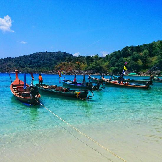Freedom Beach Thailand Boat Sea Phuket