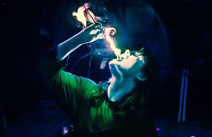 The Chopstick Fly. Fireeating Fire Pqc Human #jazzlib #photography