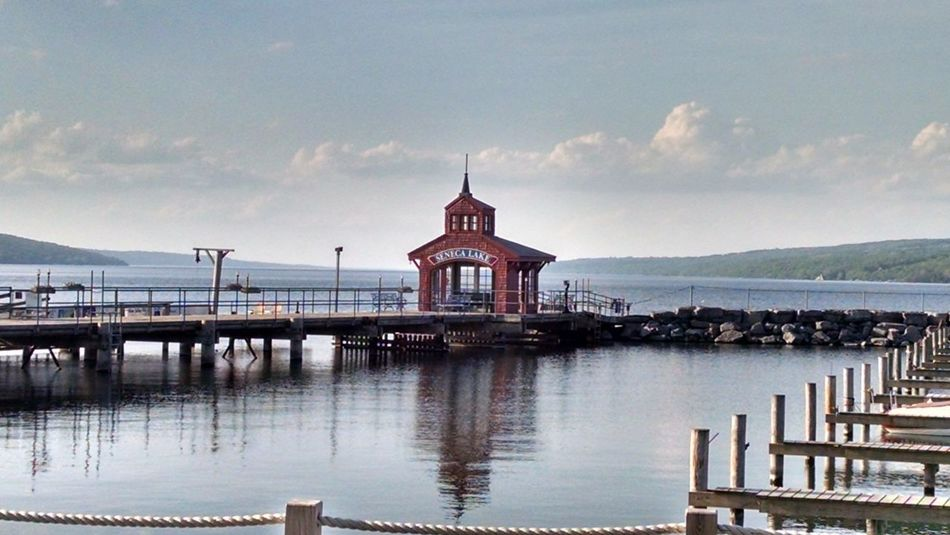 Watkins Glen, NY SenecaLake Travel Reflection Politics And Government Government Business Finance And Industry Travel Destinations Sky Old-fashioned Cityscape City Tourism Landscape Tranquility Bridge - Man Made Structure Outdoors Architecture Water Sunset No People Day First Eyeem Photo