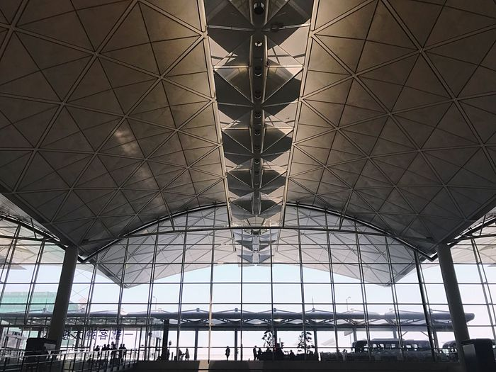 Architecture Low Angle View Hanging No People Modern Indoors  Ceiling Airport Airportphotography Airport Terminal Airport Waiting Airports Airportlife