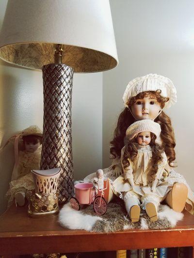 my beautiful Antique dolls Antique Dolls EyeEm Selects Child Sitting Technology Close-up Doll EyeEmNewHere