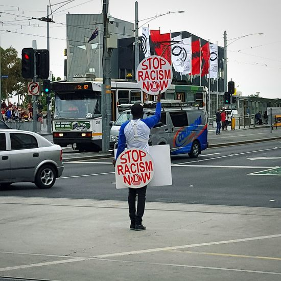 Stop Racism Now Stop Racism Freedom Isn't Free Melbourne