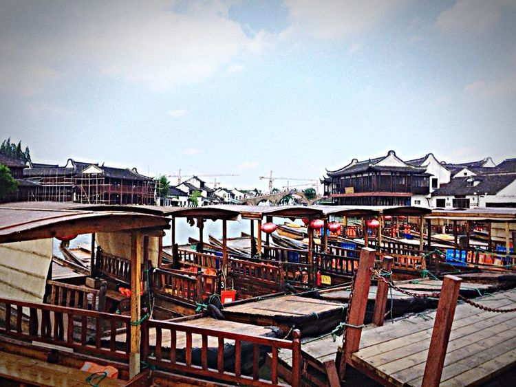 Zhujiajiao Watertown China River Oldchinesevillage Historic Old Beautiful Nature Trip Hello World Check This Out Relaxing