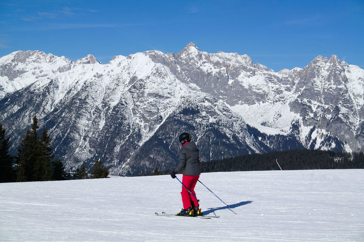 skiing Alps Holiday Man Mountain Peak S Skiing Time Winterportrait Winterski Vacation
