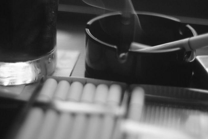 Blackandwhite Cigarette  Coffee Time Day Ernst Leitz GmbH Wetzlar Summar 5cm F2 Iced Coffee Nex5 Summa Summar L 5cm F2.0