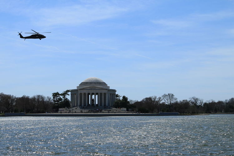 Architecture Architecture Helicopter Jefferson Memorial National Mall National Monument Outdoors Washington Washington DC