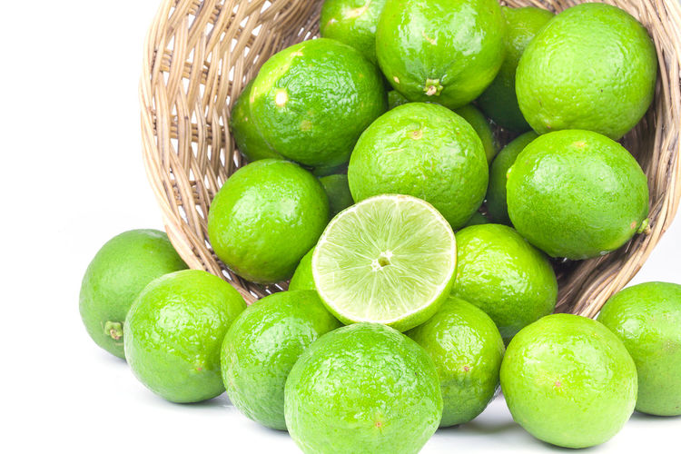 green lime in