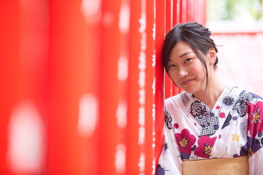 日本 夏 浴衣 Japan 記憶と共に 犬山