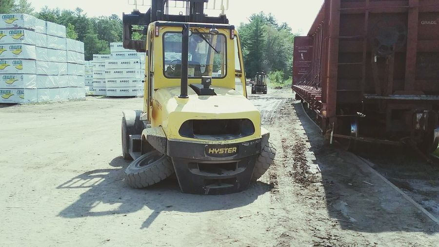 Forklift Hyster Epic Fail Broken