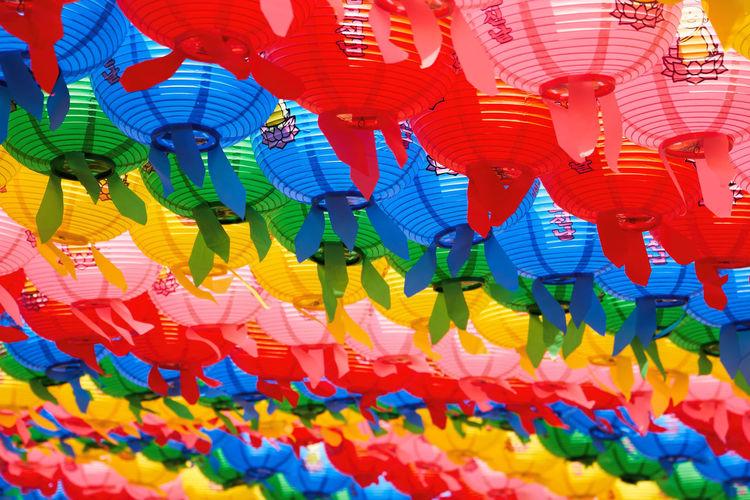 Multi Colored Lanterns