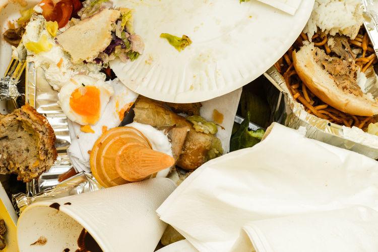 Food Food Waste Leftovers Noodles Rubbish Trash Waste