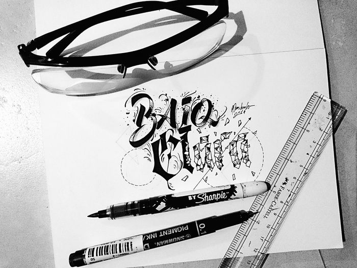 A special thing for a special lady . . . WOW Perspective Calligraphy Shirt Good Art Design Words Typography Creative Random Calligraffiti Type Blackandwhite Photography Creation Art, Drawing, Creativity ArtWork INDONESIA Blackandwhite Detail Painting Colors Pen Canvas Word