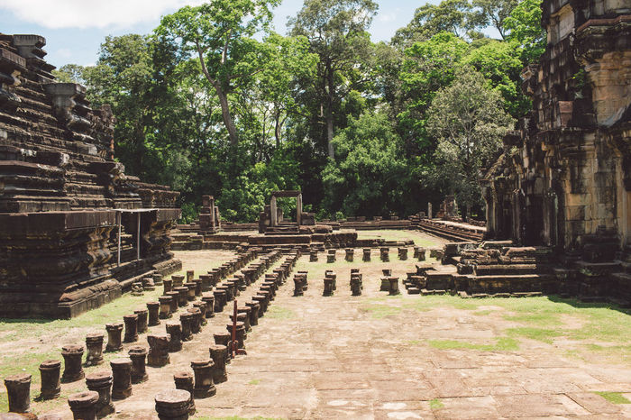 Siem Reap Cambodia Angkor Architecture History Religion Built Structure The Past Tree Belief Plant Place Of Worship Spirituality Ancient Travel Destinations Tourism Travel Building Exterior Old Ruin Building Ancient Civilization Day No People Outdoors Archaeology