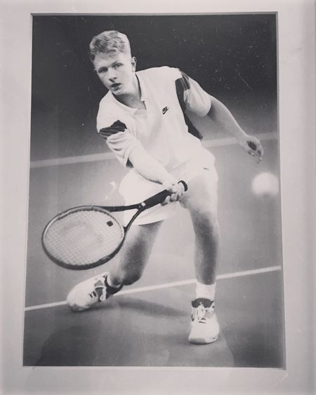 Way back in the day circa 1994 lol Tennis 🎾 Jay Rapp Nebraska Tennis Husker Tennis Huskers Cornhuskers Go Big Red Sport