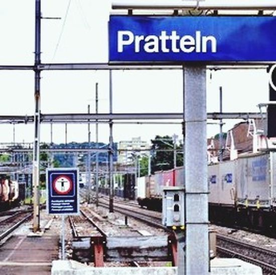 Pratteln Switzerland Bahnhof Nice