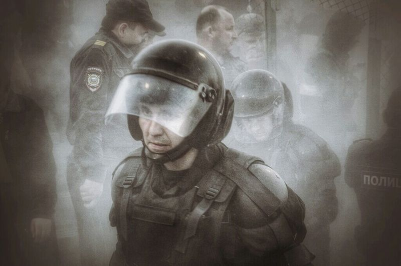 сотрудники ОМОНа в процессе работы Police Policeman работатакаяработа полиция репортаж Nikond90 Nikonphotography Nikon Russia Russianpolice