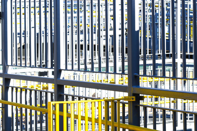 Metal No People Built Structure Architecture Day Security Prison Design Architecture Structure Yellow Grey Fall Autumn Autumn🍁🍁🍁 Backgrounds Building Exterior London East London Summer Sun Golden Hour Screensaver