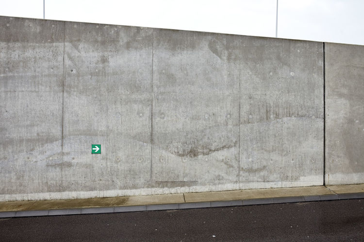 Road Wall Aarchitecture Concrete Material Street Urban