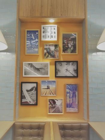 Frame Interior Japan Picture Restaurant Room Shop Tokyo Wall 壁 2016