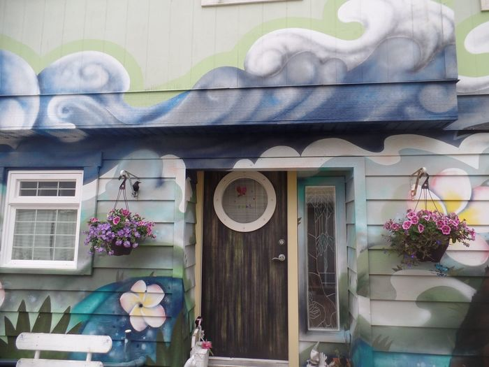 Floating house 33 Fisherman's Wharf Building Exterior Architecture Built Structure Outdoors No People Day Flowers_collection Wood - Material