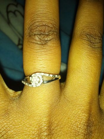My Engagement Ring!! Yayyy, I Love My Baby!!!