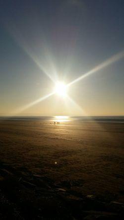 Sea View Sunset Sunset Silhouettes Burnham On Sea