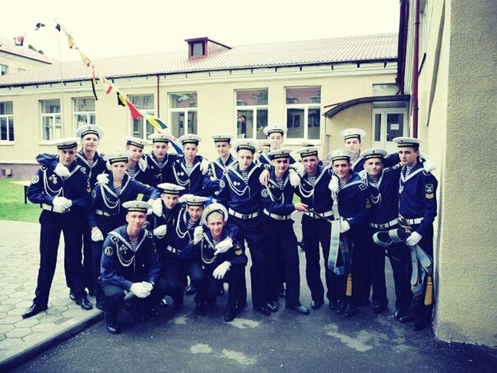 Boys At School Cadets Russians