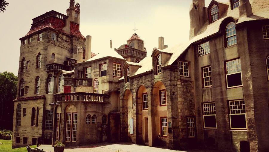 Mercer Castle Architecture Doylestown Museum