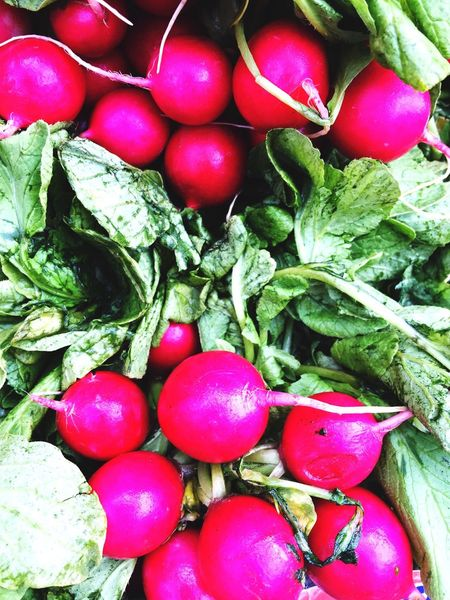 Organic & Fresh Produce Radishes Hotpink Stayhealthy