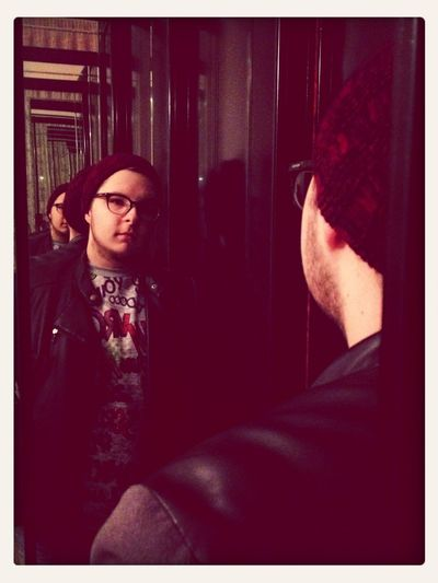 I stare my reflection in the mirror.. Whoyouare JessieJ Sunday Reflection