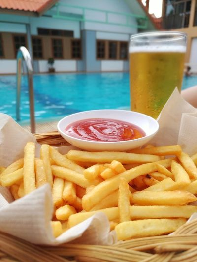 French fries in