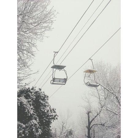岳麓山 缆车 长沙 湖南 下雪 雪 snow vsco vscocam changsha hunan china snowday cablecar cablerailroad